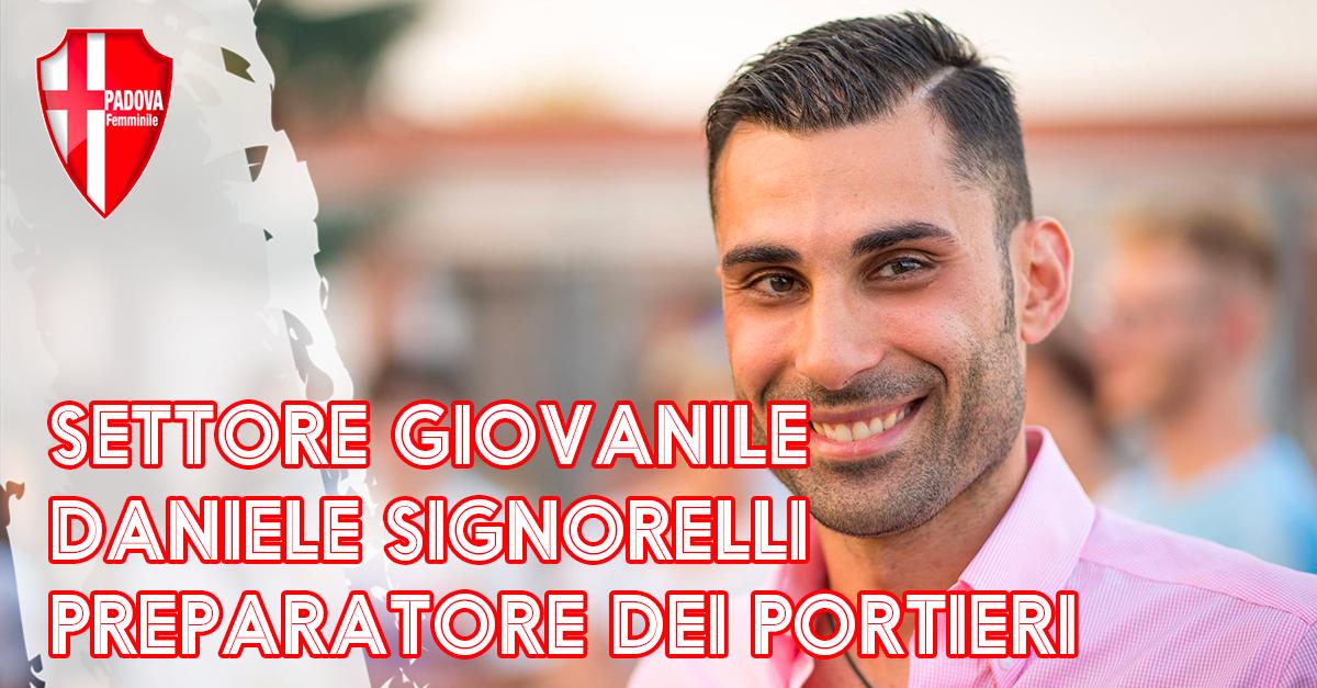 Settore giovanile: Daniele Signorelli