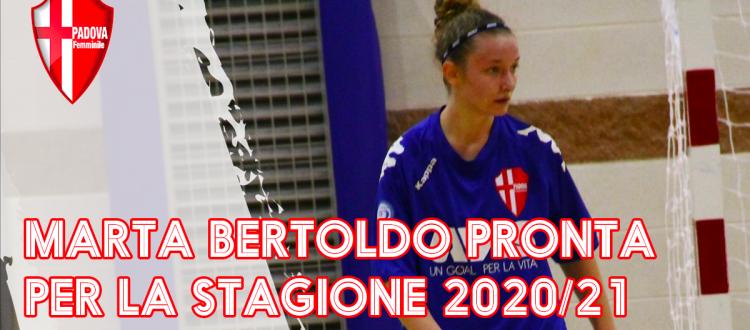 Marta Bertoldo torna in patria, pronta per la stagione 2020/21