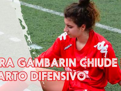 Laura Gambarin chiude il reparto difensivo conferma la sua devozione al Calcio Padova