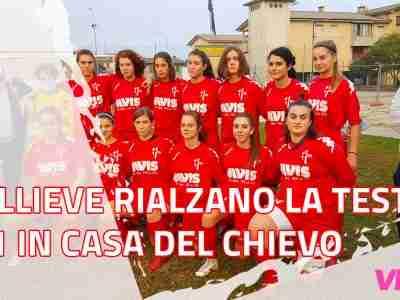 Articolo allieve Padova Chievo