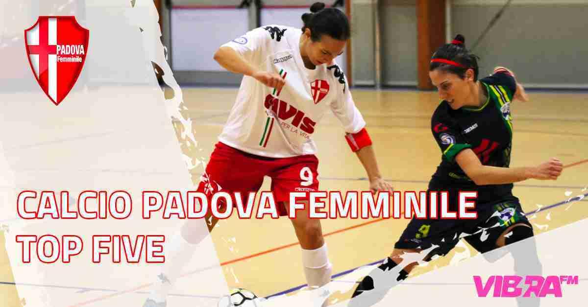 Foto: Calcio Padova Femminile - Top Five