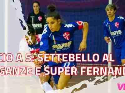Calcio a 5: Settebello al Breganze, una super Fernandez trascina le biancoscudate