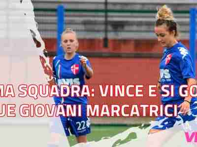 Il Calcio Padova Femminile vince e si gode le sue giovani marcatrici