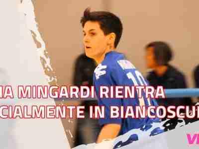 Elena Mingardi rientra ufficialmente in biancoscudato