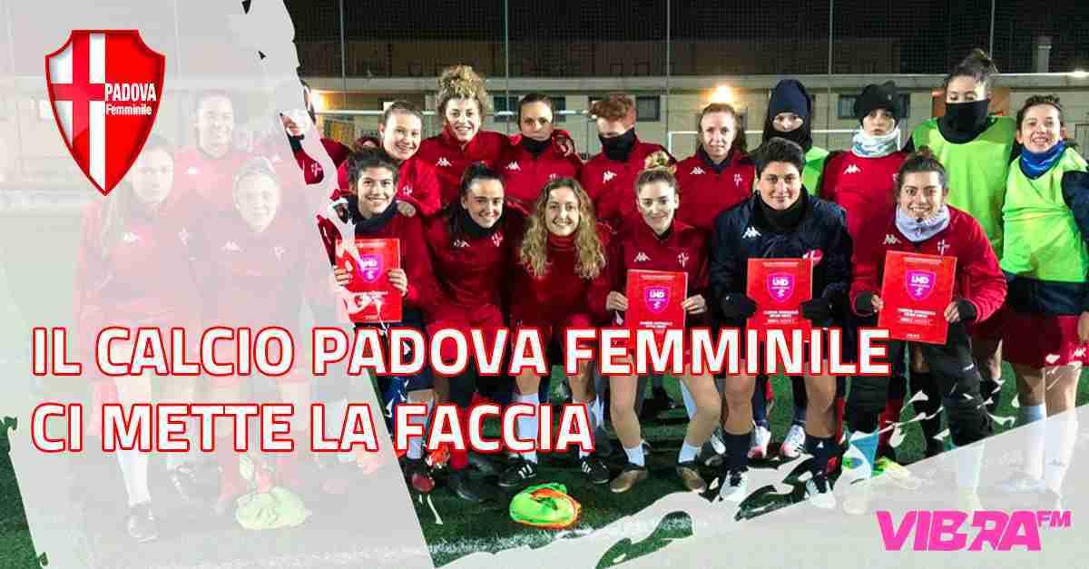 Il Calcio Padova Femminile ci mette la faccia