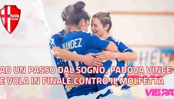 Con il 3-1 in tasca, il Padova pensa alla gara di ritorno della semifinale playoff