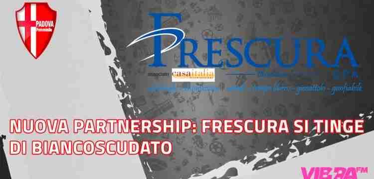 Nuova partnership: Frescura si tinge di biancoscudato