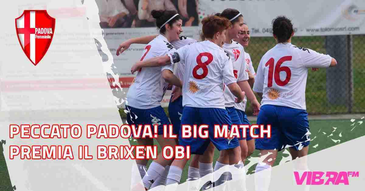 PadovaIl big match premia il Brixen Obi