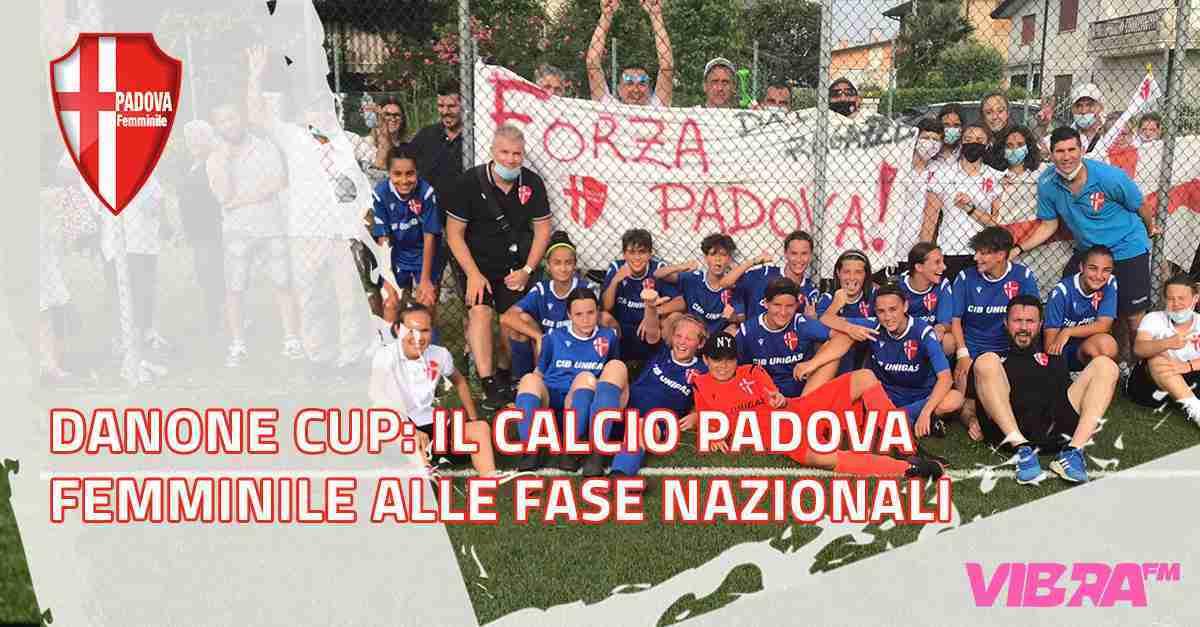 Danone Cup: il Calcio Padova Femminile alle fase nazionali