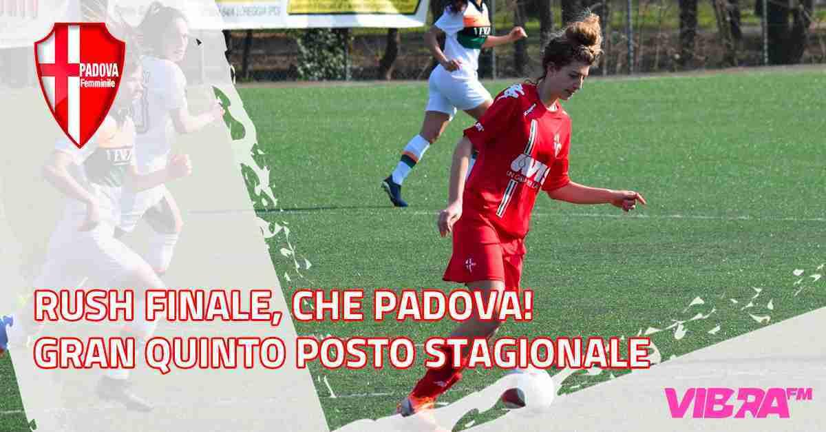 Rush finale, che Padova! Gran quinto posto stagionale
