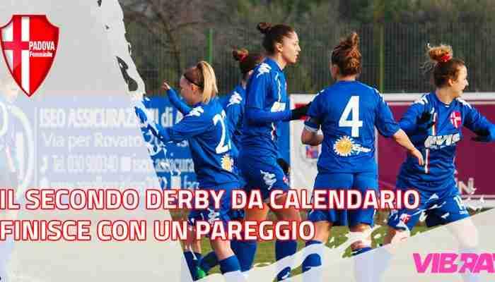 Il secondo derby da calendario finisce con un pareggio, è solo 1 a 1 contro il Vittorio Veneto