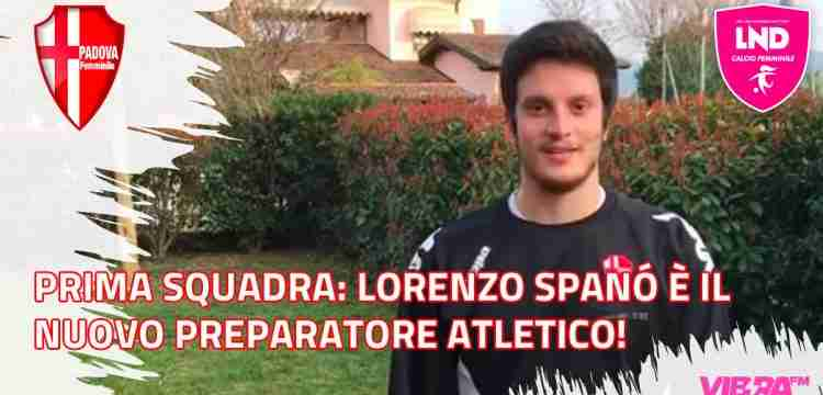Prima Squadra: Lorenzo Spanó è il nuovo preparatore atletico!
